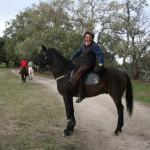 Ruta Peña Alta a caballo